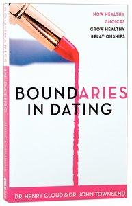 Boundaries in dating by dr henry cloud