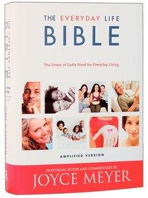 The Amplified Joyce Meyer Everyday Life Bible