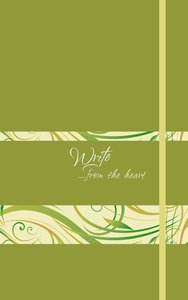 Write Journal: From the Heart, (Spring Green)