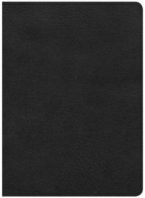 CSB Study Bible Black Deluxe