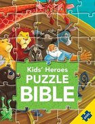 Kids Heroes Puzzle Bible (Six 30 Piece Puzzles) (Kids Puzzle Bibles Series)