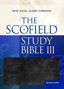 NKJV Scofield III Study Bible Black
