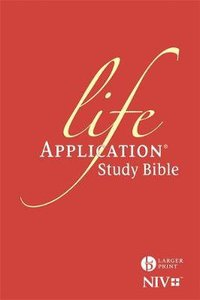 NIV Larger Print Life Application Study Bible Anglicised