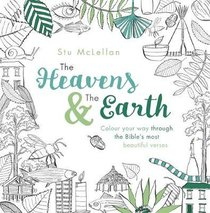 The Heavens and the Earth (Adult Colouring Book)