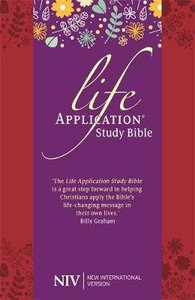 NIV Life Application Study Bible Anglicised Soft Tone