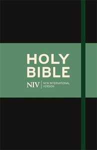 NIV Thinline Bible With Elastic Strap