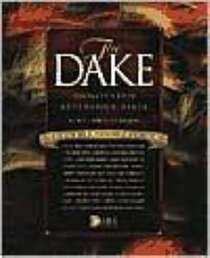 KJV Dake Annotated Reference Bible Large Print