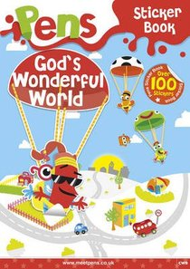 Pens Sticker Book: Gods Wonderful World