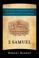 2 Samuel (Brazos Theological Commentary On The Bible Series)