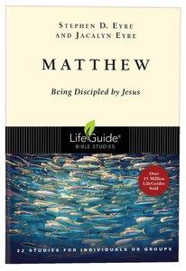 Matthew (Lifeguide Bible Study Series)