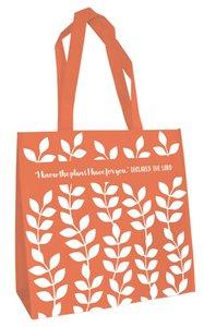 Tote Bag: I Know the Plans... (Orange)