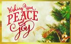 Christmas Pass-Around Cards: Peace and Joy (25 Pack)