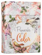 Adult Boxed Coloring Cards: Proverbs In Color