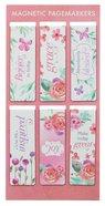 Magnetic Bookmarks Set of 6: Sing For Joy (Floral)