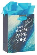Christmas Gift Bag Small: Angels Sing With Tissue Paper & Gift Tag