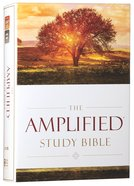 Amplified Study Bible (Black Letter Edition)