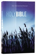 NIV Value Outreach Bible Blue Wheat