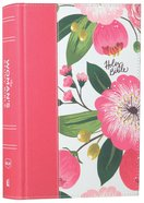 NKJV the Womans Study Bible Pink Floral Full-Color