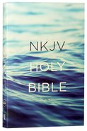 NKJV Value Outreach Bible Blue Ocean Scenic