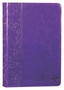 TPT New Testament Purple (With Psalms Proverbs And Song Of Songs)