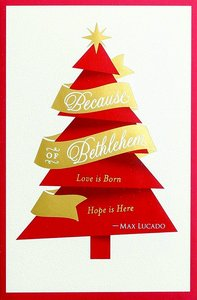 Christmas Premium Boxed Cards: Because of Bethlehem (Col 1:2 Niv)
