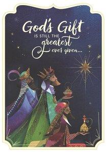 Christmas Boxed Cards: Gods Gift Wisemen (Romans 6:23 Kjv)