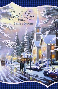 Christmas Boxed Cards: Thomas Kinkade Gods Love (John 10:10 Kjv)