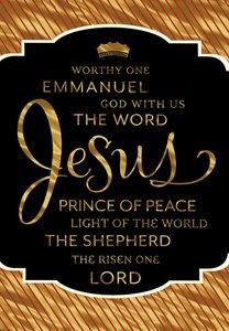Christmas Premium Boxed Cards: Names of Jesus (Isaiah 9:6 Kjv)