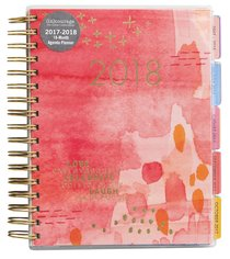 2018 Planner: Courage Agenda Planner 18-Month Planner (Gold Foil) (In)