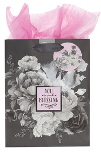 Gift Bag Medium: Botanical Range, You Are Such a Blessing (Inc Tissue Paper And Gift Tag)