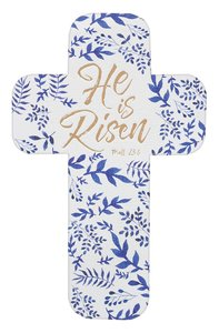 Bookmark Cross-Shaped: He is Risen