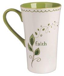 Ceramic Mug: Faith, For I Can Do Everything Through Christ Who Gives Me Strength
