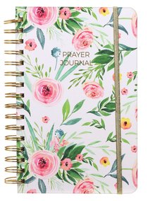 Prayer Journal: One Year Weekly Layout (Pink Floral)