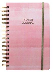 Prayer Journal: One Year Weekly Layout (Pink Wash Design)