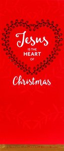 Christmas Boxed Cards Jesus is the Heart of Christmas, Red