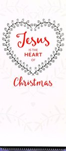 Christmas Boxed Cards Jesus the Heart of Christmas, White