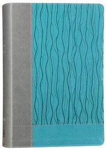 NIV Faithlife Study Bible Gray Blue