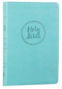 NIV Value Thinline Large Print Bible Blue (Black Letter Edition)