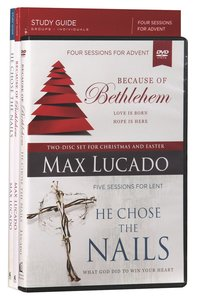 Because of Bethlehem/He Chose the Nails (Dvd With Advent & Lent Study Guides)