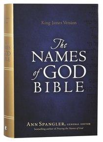 KJV Names of God Bible Hardcover Red Letter Edition