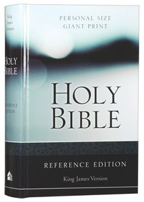 KJV Personal Size Giant Print Reference Bible Red Letter Edition