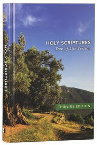 Tlv Thinline Bible Holy Scriptures