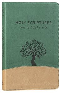 Tlv Thinline Bible Holy Scriptures Grove/Sand Tree Design Duravella