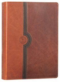 NLT Beyond Suffering Study Bible Brown (Black Letter Edition)
