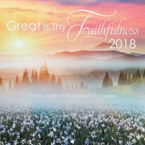 2018 Large Calendar: Great is Thy Faithfulness