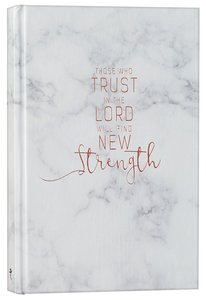 Marble Journal: Those Who Trust in the Lord (Copper/marble)
