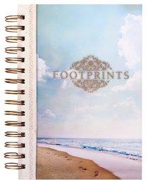 Wirebound Journal: Footprints