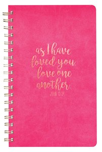 Luxleather Wirebound Journal, as I Have Loved You, John 13:34