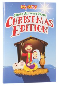 Bible Activity Book, the (Ages 5-10) (Christmas Edition) (Itty Bitty Bible Series)
