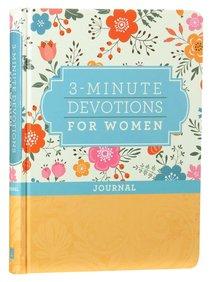 3-Minute Devotions For Women Journal